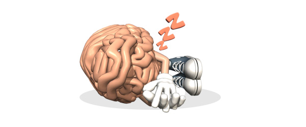 tired brain