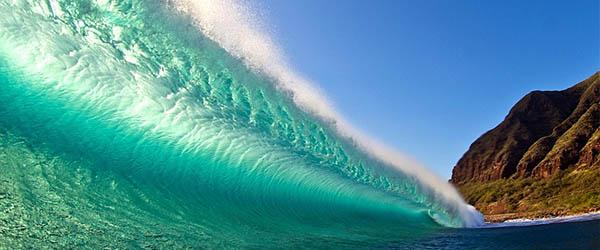 ola en mar