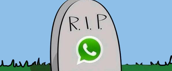 rip whatsapp
