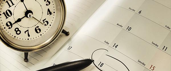 agenda tiempo