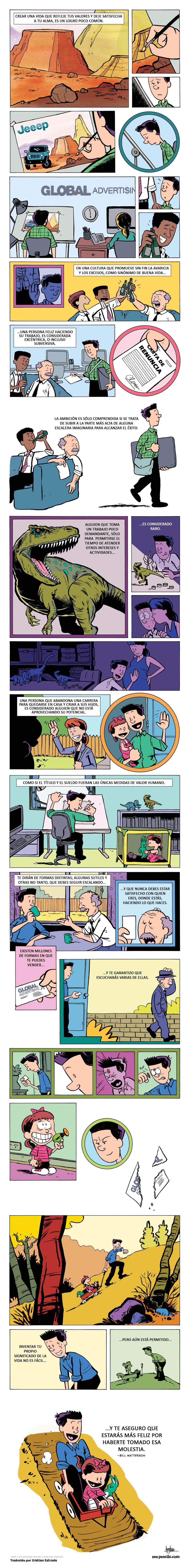 Consejo de un dibujante