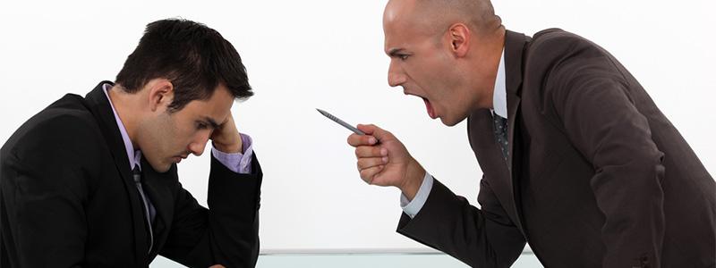 5 hábitos de malos jefes